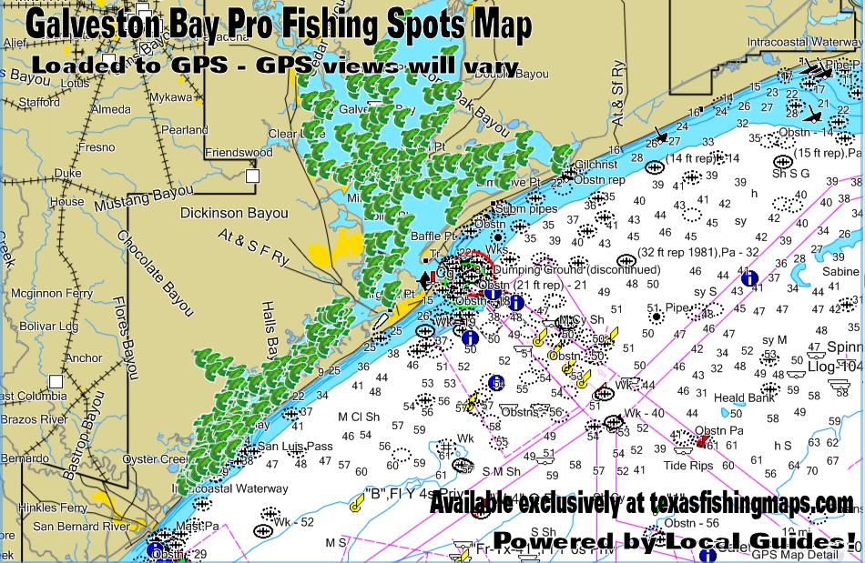 Galveston Bay Spots | Texas Spots and ... on texas map, puerto vallarta bay map, galveston gulf map, galveston east end map, lake houston, galveston pier map, the woodlands, galveston ship channel map, galveston coastline map, montgomery county, west bay map, trinity bay map, galveston jetties map, puget sound map, mobile bay map, galveston tx map, beach city, frisco bay map, galveston texas, lake jackson, delaware inland bays map, la porte, seattle bay map, port of houston, san francisco bay map, clear lake, san jacinto river, permian basin, brazoria county, moses lake, nueces river map, ocean city bay map,