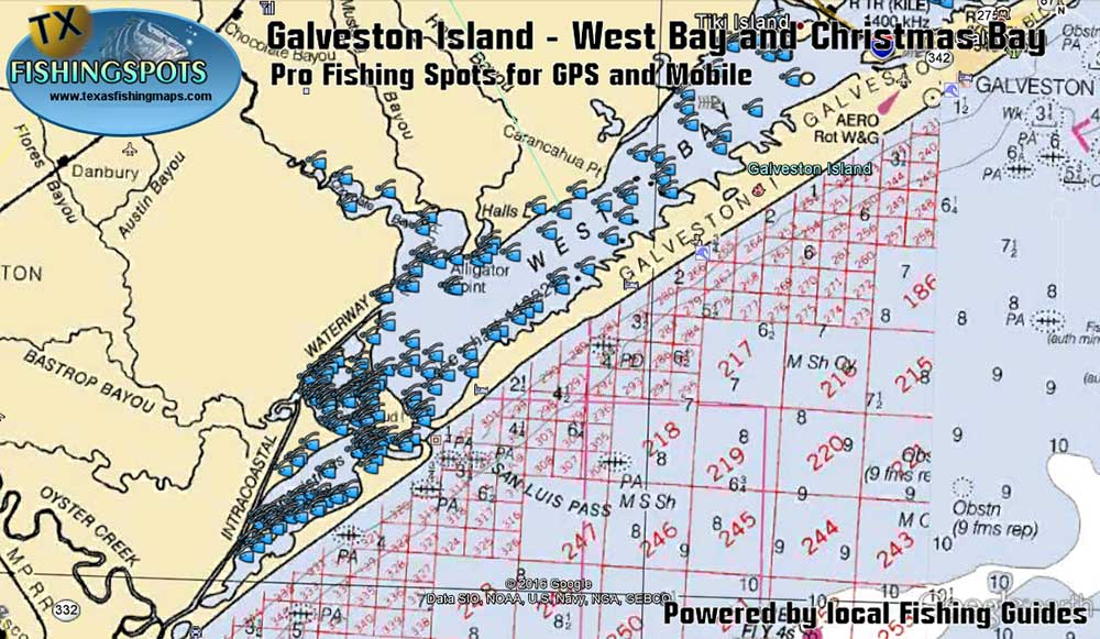 Galveston bay fishing gps coordinates all the best fish for Fish and game forecast ga