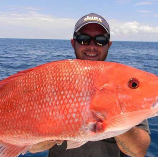 South Padre Texas Fishing Map