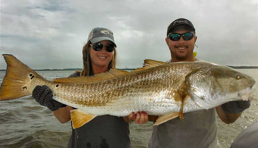 Redfish Fishing Spots in Texas