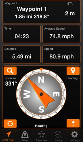 Iphone or ipad as fishing gps using gps tracks texas for Fishing gps apps