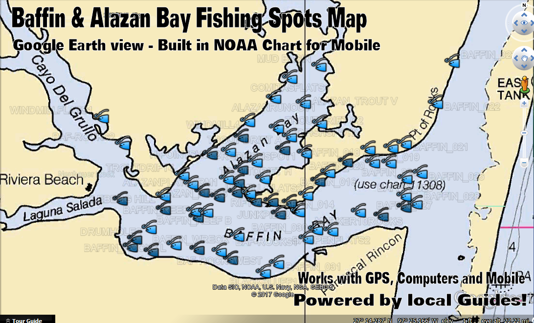 fishing map san antonio bay best fish 2017