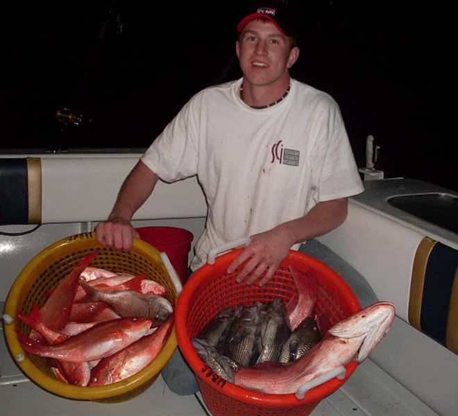 Galveston Fishing Spots for Red Snapper and bottom Fishing