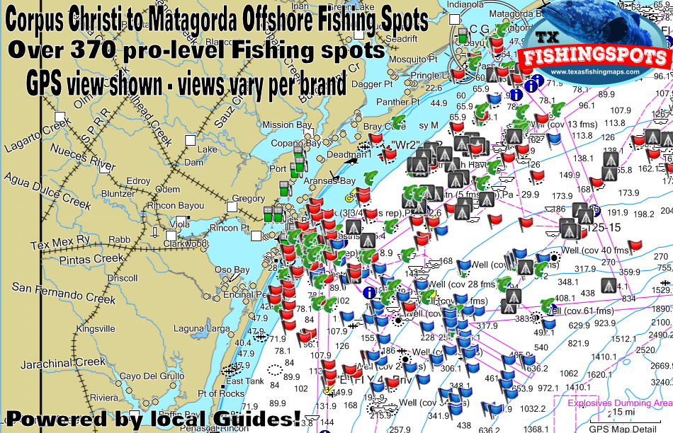 Corpus christi to matagorda texas fishing spots texas for Best fishing spots in corpus christi