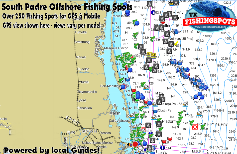 South Padre Island Texas Fishing Spots for Offshore Fishing