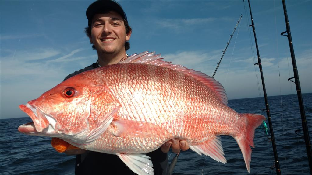 Texas Fishing Spots - Red Snapper